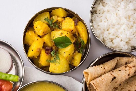 Vida Press nuotr./Indiškas maistas