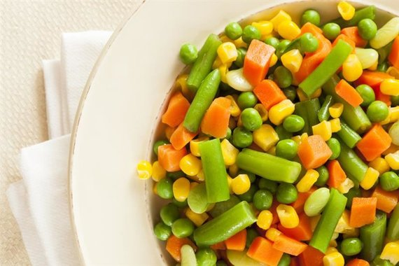 Garuose ruoštos daržovės