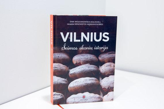 """Luko Balandžio / 15min nuotr./Knyga """"Vilnius. Šeimos skonių istorija"""""""