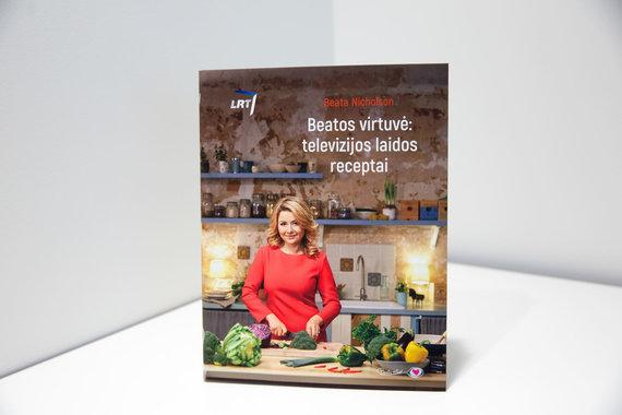 """Luko Balandžio / 15min nuotr./Knyga """"Beatos virtuvė: televizijos laidos receptai"""""""