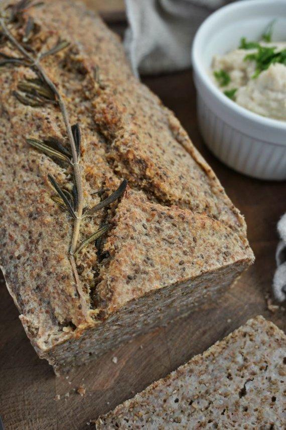 Soulfood.lt nuotr./Grikių ir chia sėklų duona