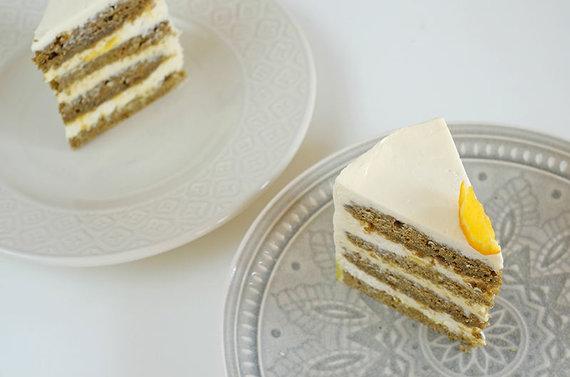 Asmeninio albumo nuotr./Žaliosios arbatos tortas