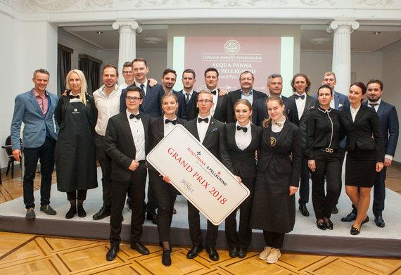 Organizatorių nuotr./Lietuvos someljė čempionato dalyviai