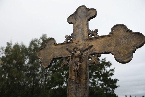 Eriko Ovčarenko / 15min nuotr./Kryžius