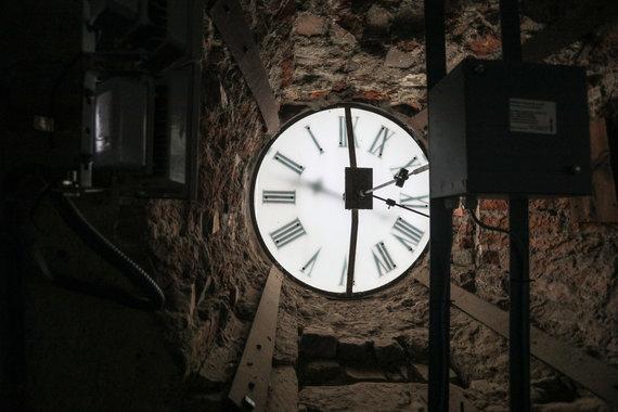 Eriko Ovčarenko / 15min nuotr./Rotušės laikrodis