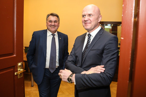 Eriko Ovčarenko / 15min nuotr./Antanas Navakauskas ir Gintaras Černiauskas