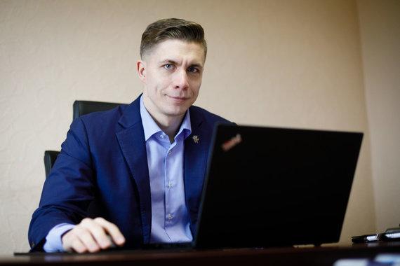Photo by Erik Ovčarenko / 15min / Mindaugas Sinkevičius