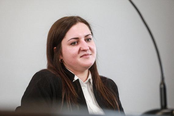 Eriko Ovčarenko / 15min nuotr./Kaltinamoji teisme
