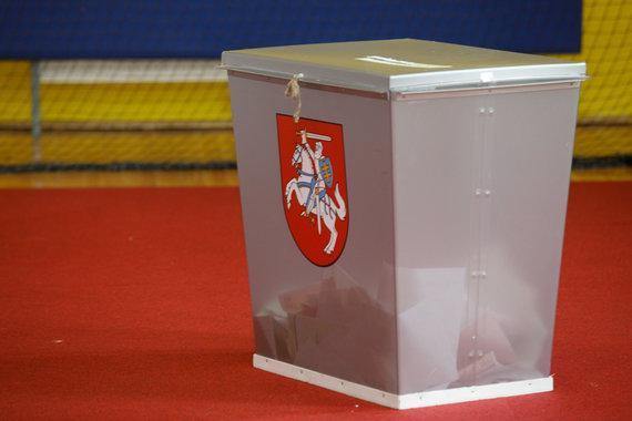 Eriko Ovčarenko / 15min nuotr./Asociatyvi nuotrauka: balsadėžė