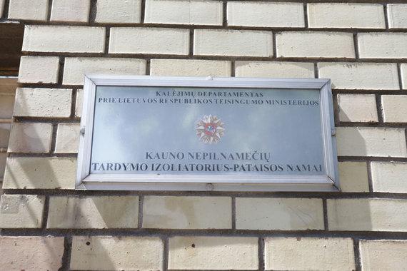 Eriko Ovčarenko / 15min nuotr./Kauno nepilnamečių tardymo izoliatorius – pataisos namai