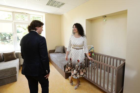Eriko Ovčarenko / 15min nuotr./Šeimos krizių centro atidarymas