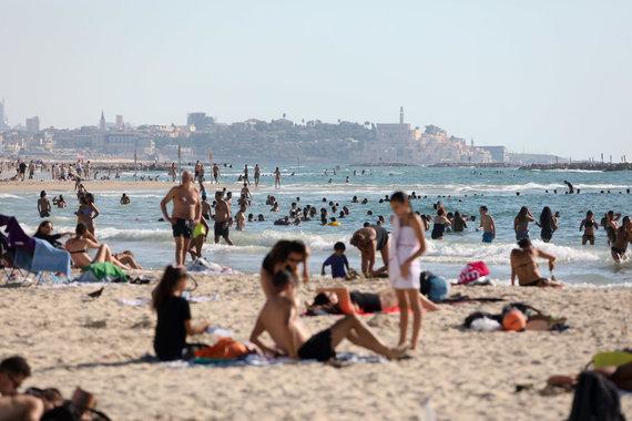 Eriko Ovčarenko / 15min nuotr./Tel Avivo paplūdimys