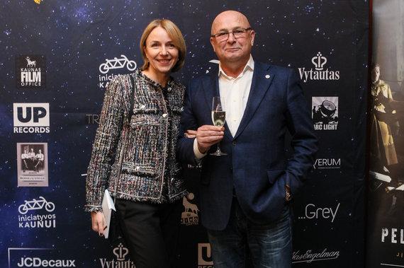 Eriko Ovčarenko / 15min nuotr./Loreta Stonkienė ir Visvaldas Matijošaitis