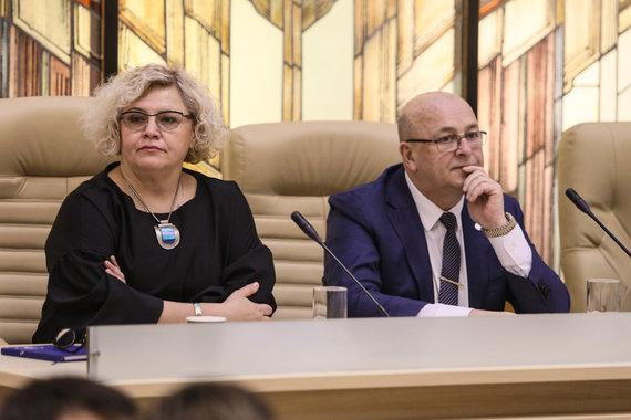 Eriko Ovčarenko / 15min nuotr./Rasa Šnapštienė ir Visvaldas Matijošaitis