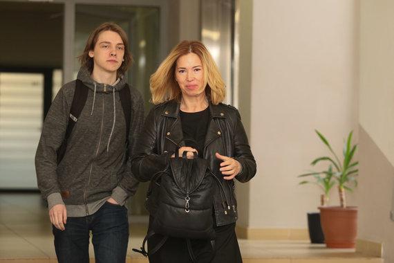 Eriko Ovčarenko / 15min nuotr./Gintarė-Karaliūnaitė Canuel su sūnumi