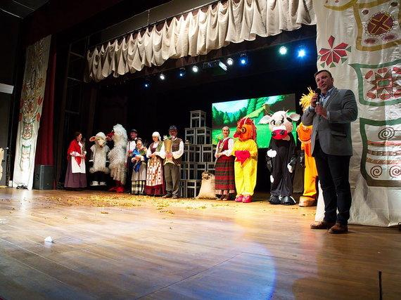 Trakų kultūros rūmų nuotr./Trakų kultūros rūmų direktorius – prisiekęs teatralas, todėl jam ypač džiugu, kad šiemet Trakuose vyks daug teatro meno pasirodymų