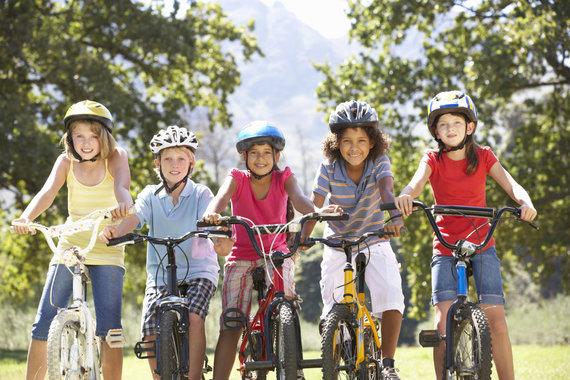 123RF.com nuotr./Dviratis ir vaikystė – neatskiriami dalykai