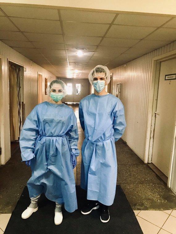 Asmeninė nuotr./Kėdainių ligoninės gydytoja reabilitologė Raimonda Augienė ir jos kolegos