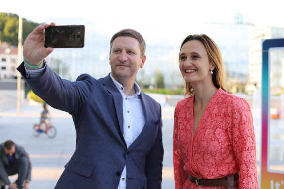 Giedriaus Karvelio fotografija nuotr./Simonas Kairys ir Viktorija Čmilytė-Nielsen