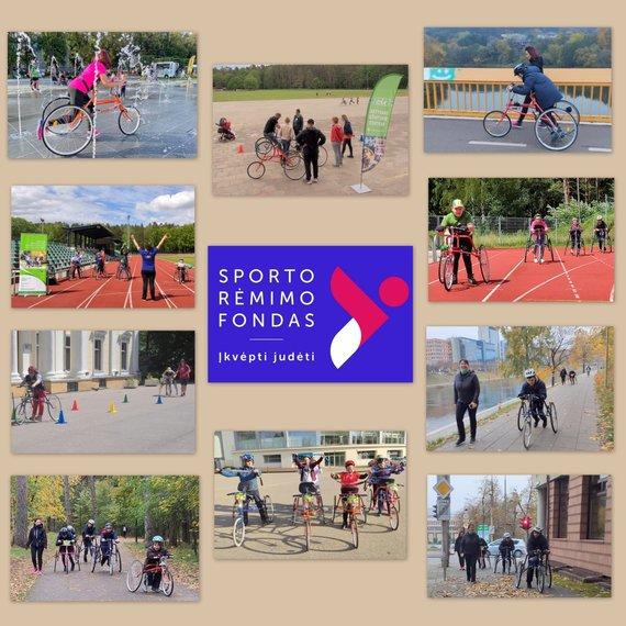 """Centro """"Eik"""" nuotr./Centro """"Eik"""" nariai dėkingi Sporto rėmimo fondui už galimybę tęsti projektus"""