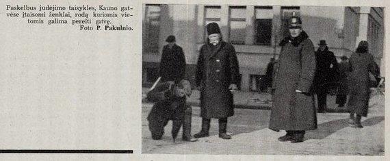 Asmeninio archyvo/Aktualijos spaudoje (1937 m)
