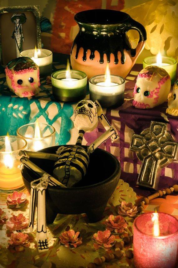 Mirusiųjų dienos suvenyrai, Meksika