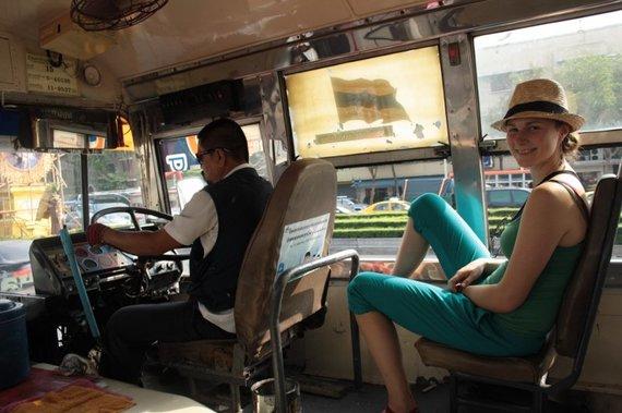 Miesto autobuse