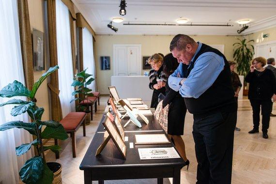 Lauros Vansevičienės nuotr./K.Pakšto originalių nuotraukų, dokumentų ir kitos medžiagos ekspozicija
