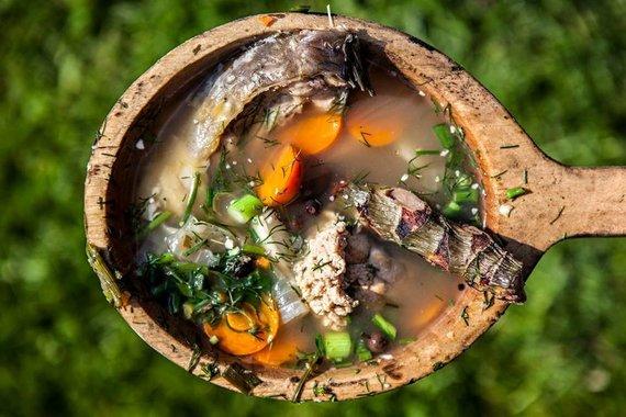 VTD nuotr./Rytų aukštaičiai taip pat verda žuvienę