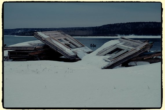 Ričardo Grigo nuotr./Žvejai. Sibiras