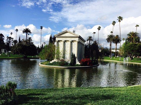 Asmeninės nuotr./Rimvydo Širvinsko-Makaliaus atostogos Los Andžele