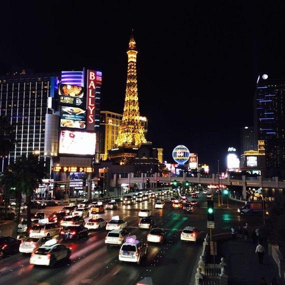 Asmeninės nuotr./Rimvydo Širvinsko-Makaliaus atostogos Las Vegase