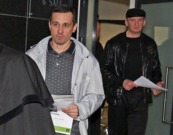 """Eriko Ovčarenko / 15min nuotr./""""Daškiniams"""" priskiriami kauniečiai R.Užukauskas-Rublis (nuotraukoje kairėje) ir R.Dromantas-Ilgas"""