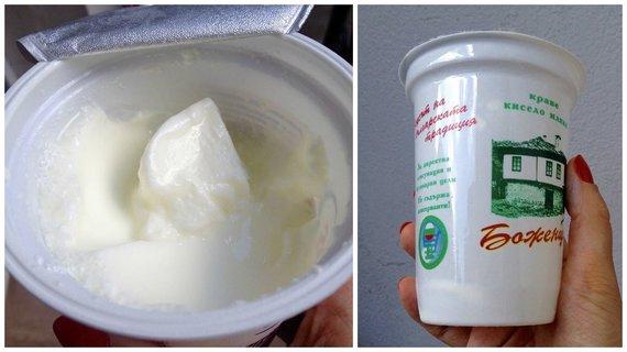 Virginijos Pupeikytės-Dzhumerovos nuotr./Bulgarijoje būtina paragauti vietinio jogurto
