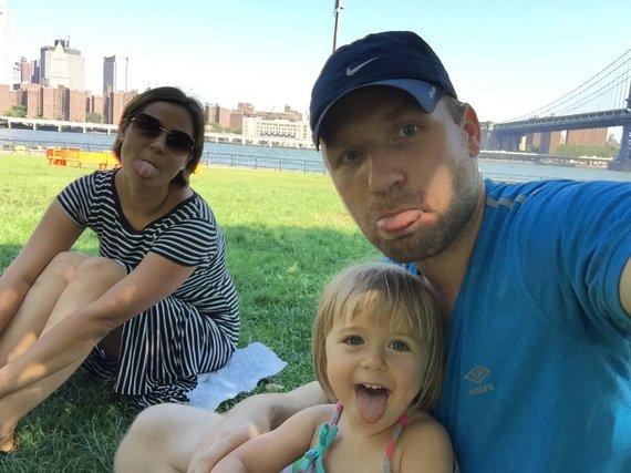 Asmeninė nuotr./Į Lietuvą iš JAV gyventi grįžusi Baronų šeima