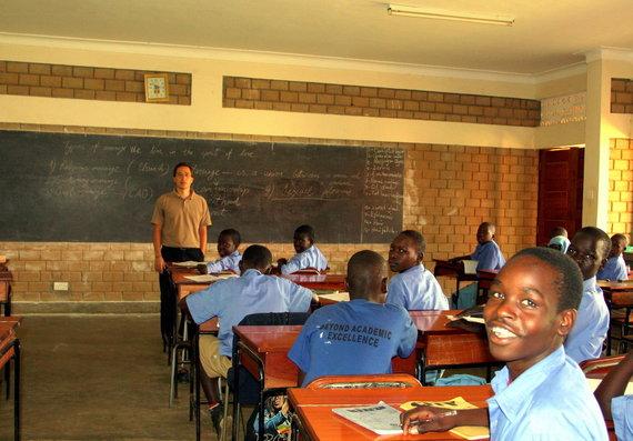 Asmeninio albumo nuotr. /Mokykla Šiaurės Ugandoje, Gulu