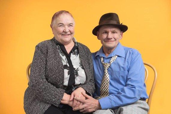 """""""Senučiukai""""/""""Facebook"""" nuotr./Pora. Svėdasų senelių namų gyventojai, įamžinti """"Help Portrait Lithuania"""" fotografų"""