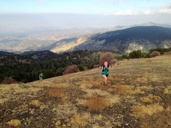 Organizatorių nuotr./Trail bėgimas Kipre – kitokios atostogos