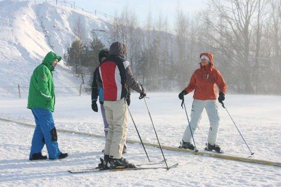 Aurelijos Kripaitės/15min.lt nuotr./Žemaitija turi ambicijų privilioti dalį žiemos sporto mėgėjų iš kaimyninės Latvijos.