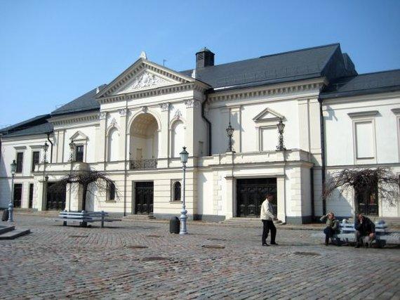 A.Kripaitės nuotr. /Klaipėdos dramos teatras po rekonstrukcijos beveik nepakeis išvaizdos.