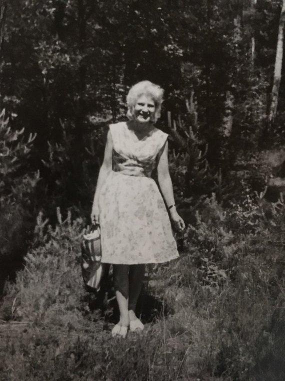 Asmeninio archyvo nuotr./Romualda Juozapavičiūtė jaunystėje