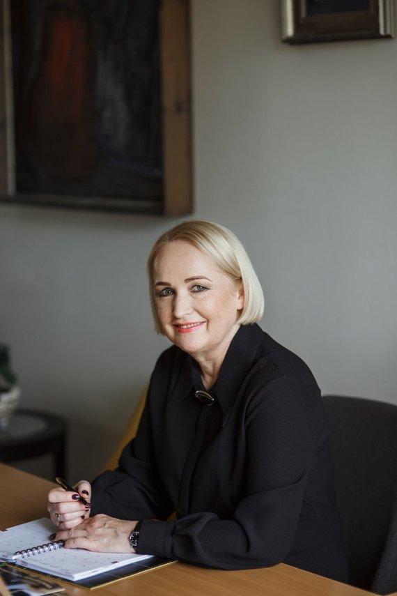 Klaipėdos licėjaus nuotr./Klaipėdos licėjaus direktorė Regina Kontautienė