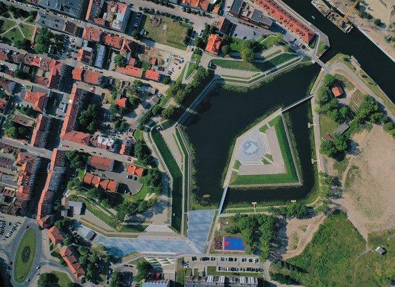 Klaipėdos miesto sav. nuotr./Sutvarkyta erdvė prie Jono kalnelio