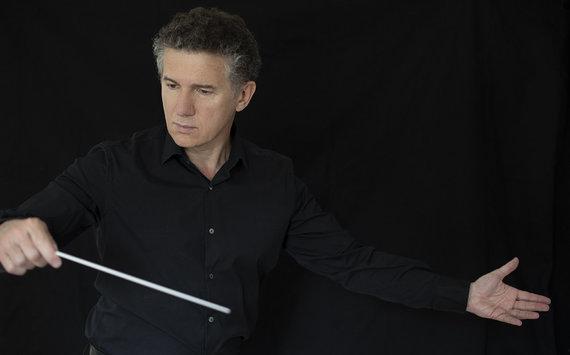 Koncertų salės nuotr./Dirigentas Alexis Soriano