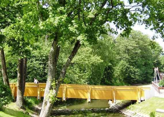 J.Vanagės nuotr./Tiltui per Rąžę bus duotas Josifo Brodskio vardas.