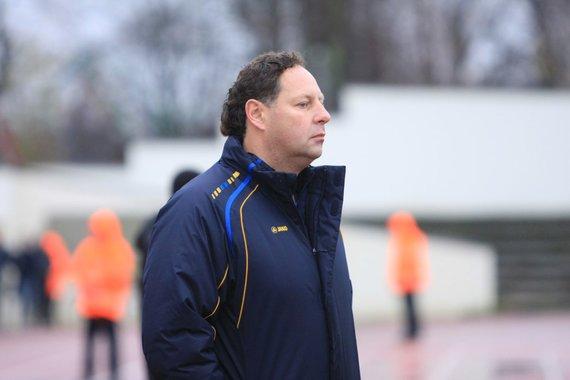 """Aurelijos Kripaitės/15min.lt nuotr./""""Atlanto"""" treneris Konstantinas Sarsanija"""