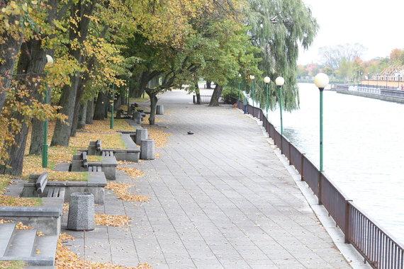 A.Jašinskienės/15min.lt nuotr./Danės upė