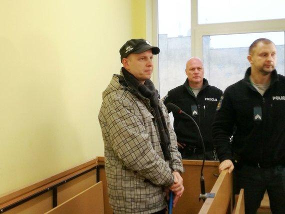 J. Andriejauskaitės / 15min nuotr./R.Šešel katinamas šnipinėjimu Klaipėdos uoste Rusijos žvalgybos užsakymu.