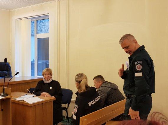 J. Andriejauskaitės / 15min nuotr./Algimantas Rašinskis įtariamas pasmaugęs sugyventinę.