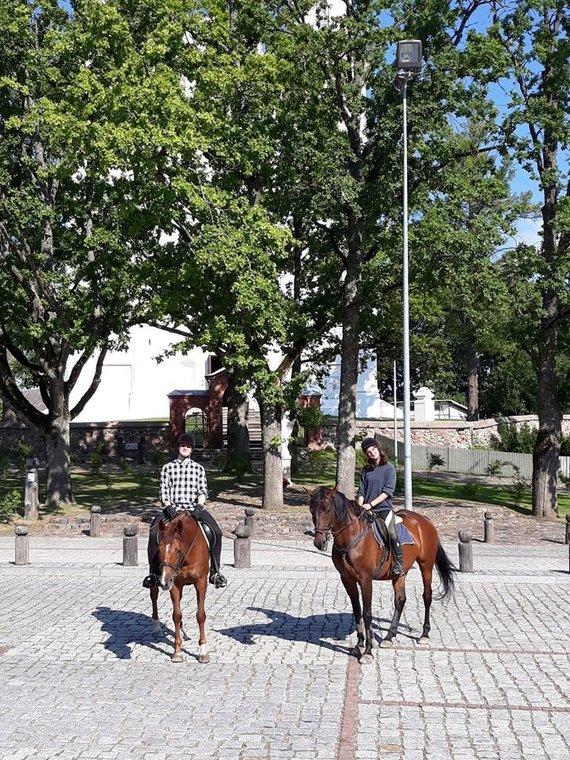 Gyvojo žirgo muziejaus nuotr./Kurtuvėnų dvaro Gyvojo žirgo muziejus laukia lankytojų